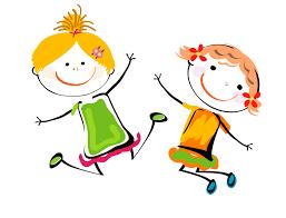 tańczące dzieci sylwetki - Szukaj w Google | Illustration art kids, Best  friend images, Illustration art girl